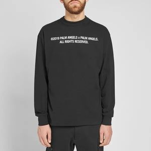 Palm Angels 'PalmXPalm' Long Sleeve Pullover